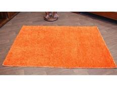 Kusový koberec SHAGGY – oranžový