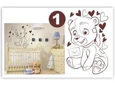Dětské samolepky KIDS color - vzor 3-1