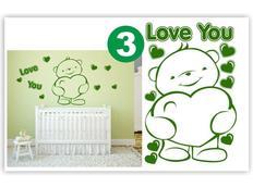 Dětské samolepky KIDS color - vzor 3-3