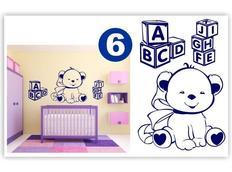 Dětské samolepky KIDS color - vzor 3-6