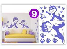 Dětské samolepky KIDS color - vzor 3-9