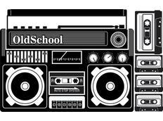Moderní samolepky MUSIC - vzor 3