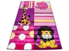 Dětský koberec AFRIKA pink