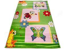 Dětský koberec ZELENÍ BROUČCI