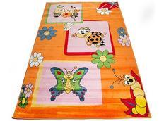 Dětský koberec ORANŽOVÍ BROUČCI
