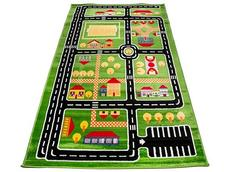 Dětský koberec GREEN TOWN 2