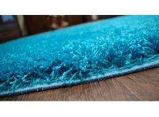 Kusový koberec SHAGGY – tyrkysový