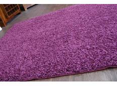 Kusový koberec SHAGGY – fialový