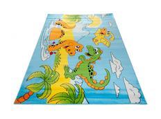 Dětský koberec DINO blue