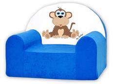 Dětské křesílko OPIČKA - modré