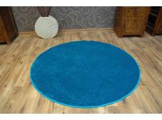 Kulatý koberec LAS VEGAS tyrkysový