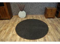Kulatý koberec KOLO LAS VEGAS hnědý