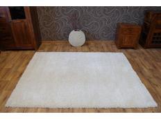 Kusový koberec SHAGGY NARIN krémový