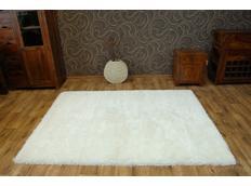Kusový koberec SHAGGY MACHO bílý