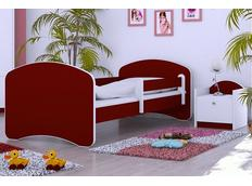 Dětská postel 180x90 cm - BORDÓ