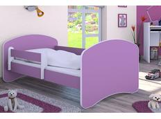 Dětská postel 180x90 cm - FIALOVÁ