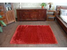 Kusový koberec SHAGGY MACHO terakotový