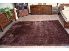 Kusový koberec SHAGGY MACHO wenge