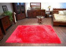 Kusový koberec SHAGGY MACHO červený