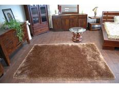 Kusový koberec SHAGGY MACHO hnědý