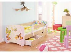 Dětská postel MOTÝLCI 2 funny 160x70cm