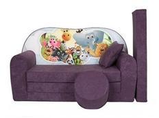 Dětská pohovka SAFARI - fialová
