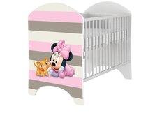 Dětská postýlka Disney - MYŠKA MINNIE BABY