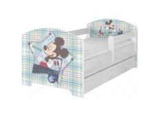 Dětská postel Disney - MICKEY MOUSE 140x70 cm