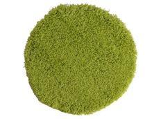 Kulatý koberec Angora EDEN zelený - 60 cm