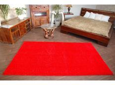 Kusový koberec SHAGGY – červený