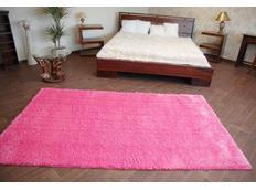 Kusový koberec SHAGGY – růžový