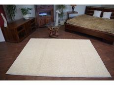 Kusový koberec SHAGGY – krémový