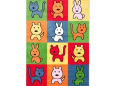 Dětský koberec COLOR ANIMALS 2