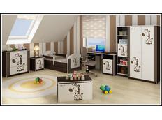 Dětské pokoje - vzor HNĚDÁ ŽIRAFA