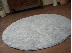 Kulatý koberec SERENADE - šedý