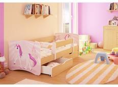 Dětská postel JEDNOROŽEC funny 160x90cm