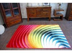 Designový koberec MALBA F475 červený