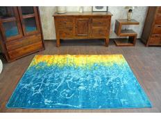 Designový koberec MALBA F479 modrý