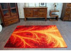 Designový koberec MALBA F503 červený