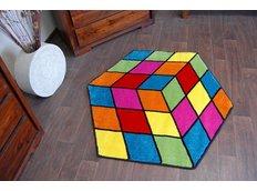 Dětský koberec Rubikova kostka 1546