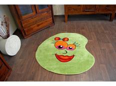 Dětský koberec Zelená fazolka 1552