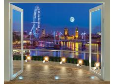Moderní 3D tapeta LONDÝN