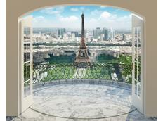 Moderní 3D tapeta PAŘÍŽ