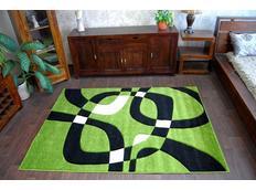 Moderní koberec ZELENÝ H203-8405