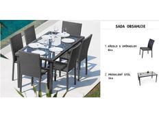 Zahradní ratanový nábytek CANCU set 7ks