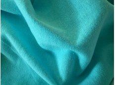Bavlněné prostěradlo do postele 120x60 cm - TYRKYSOVÉ