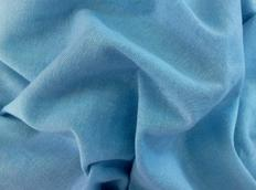 Bavlněné prostěradlo do postele 180x80 cm - SVĚTLE MODRÉ