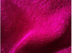 Froté prostěradlo do postele 180x80 cm - MALINOVÉ