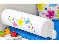Chránič na dětskou postel - KVĚTINY