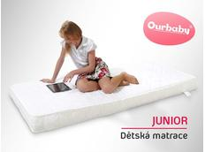 Matrace JUNIOR - 180x90 cm - kokos / molitan